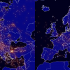 Antes y después: un video de Eurocontrol muestras las diferencias en el tráfico aéreo con la llegada del coronavirus