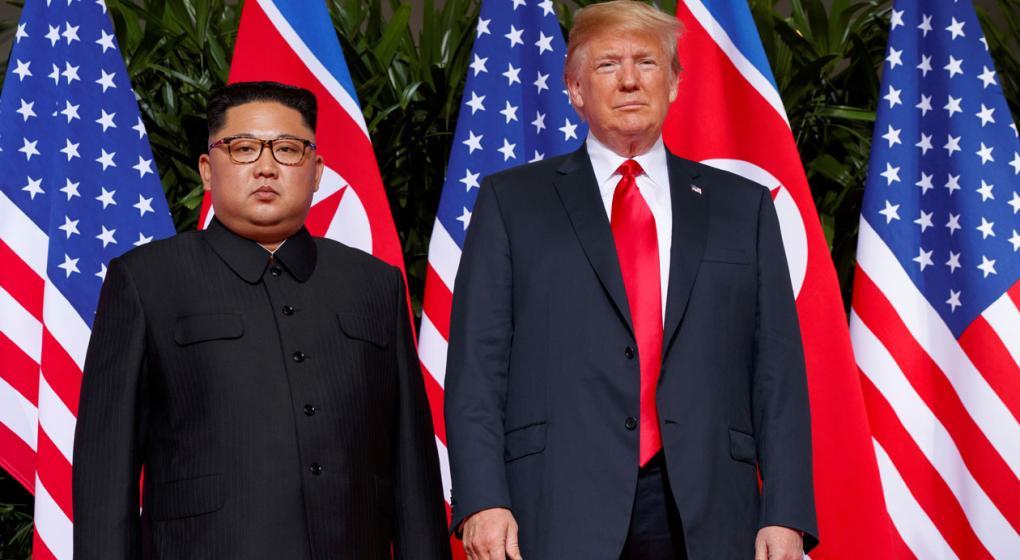 Trump podría reunirse con Kim Jung-un a principios de 2019