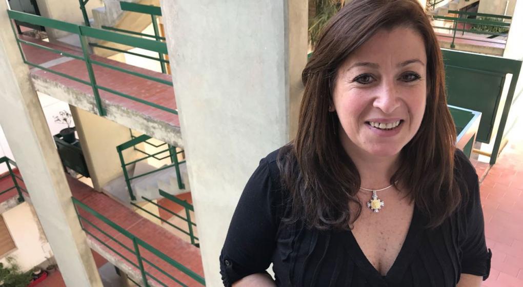 """Mónica Tamaro le hizo ñoquis y tuvo un """"mano a mano"""" con Macri en Río Cuarto"""