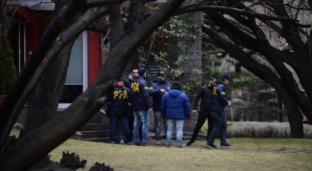 Allanan la casa de Cristina Fernández en El Calafate