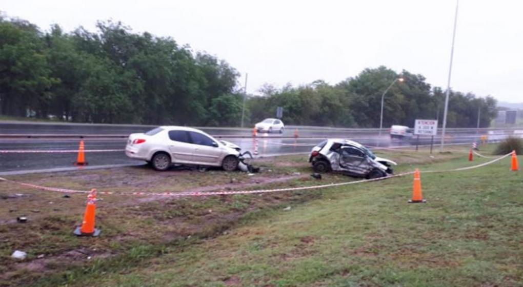 Choque fatal en la ruta E-55: murió una joven de 18 años