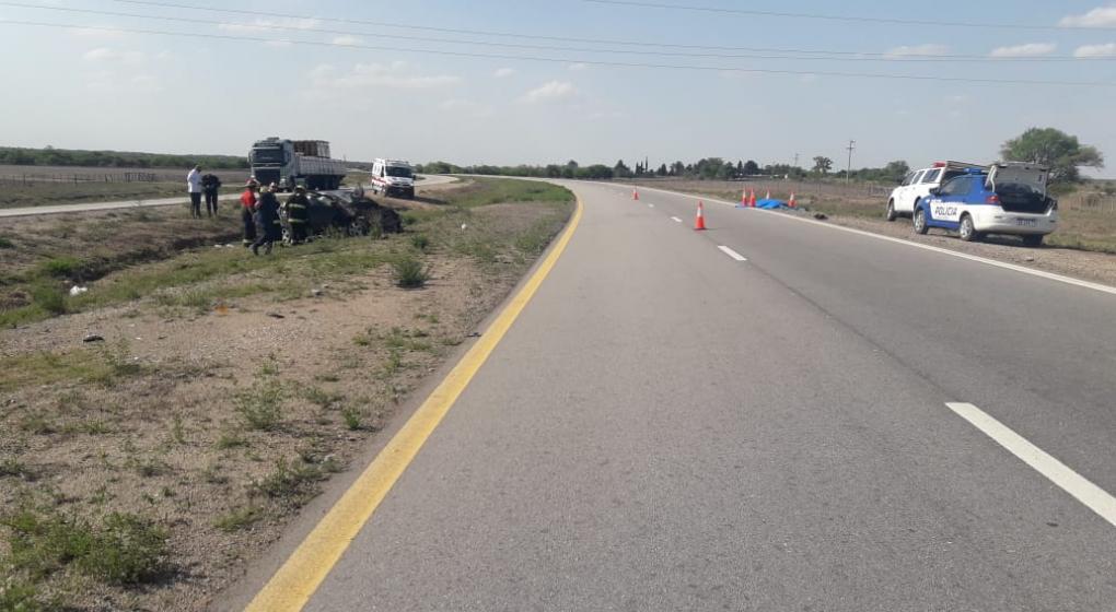 Despiste fatal: un hombre perdió la vida en la autovía Córdoba-Río Cuarto