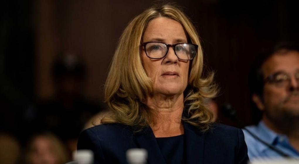 Lapidario testimonio de la mujer que acusa de agresión sexual al candidato de Trump a la Corte