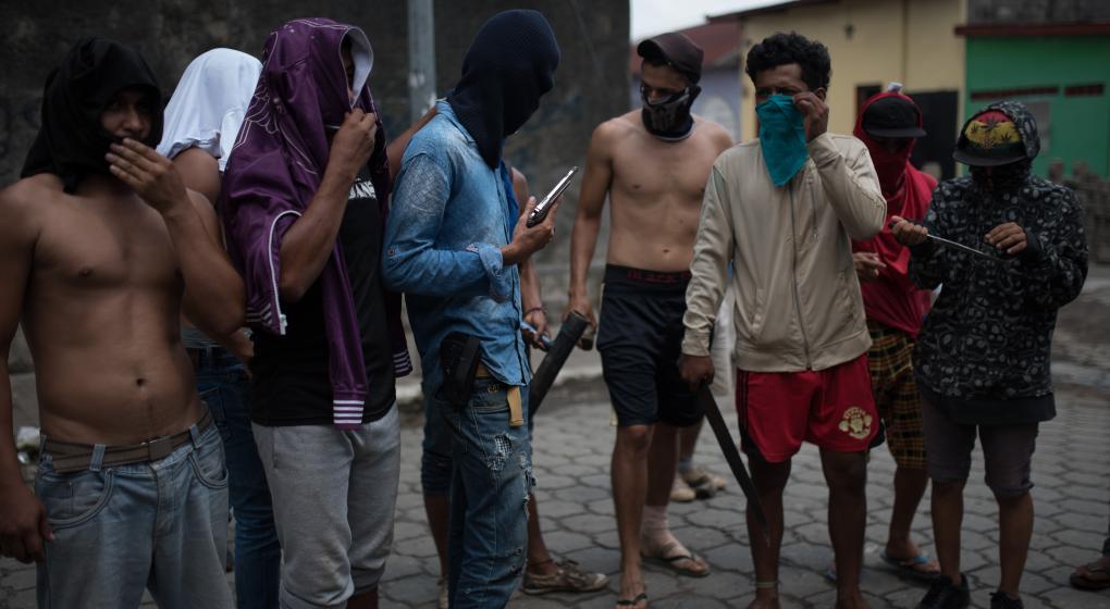 """Los """"horribles días"""" de muerte en Nicaragua"""