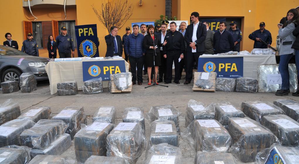 Por la lucha contra el narco, la ministra Bullrich refutó a camaristas federales