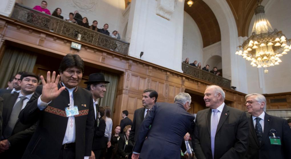 Pese al fallo adverso en La Haya, Bolivia no renuncia a su sueño de salida al mar