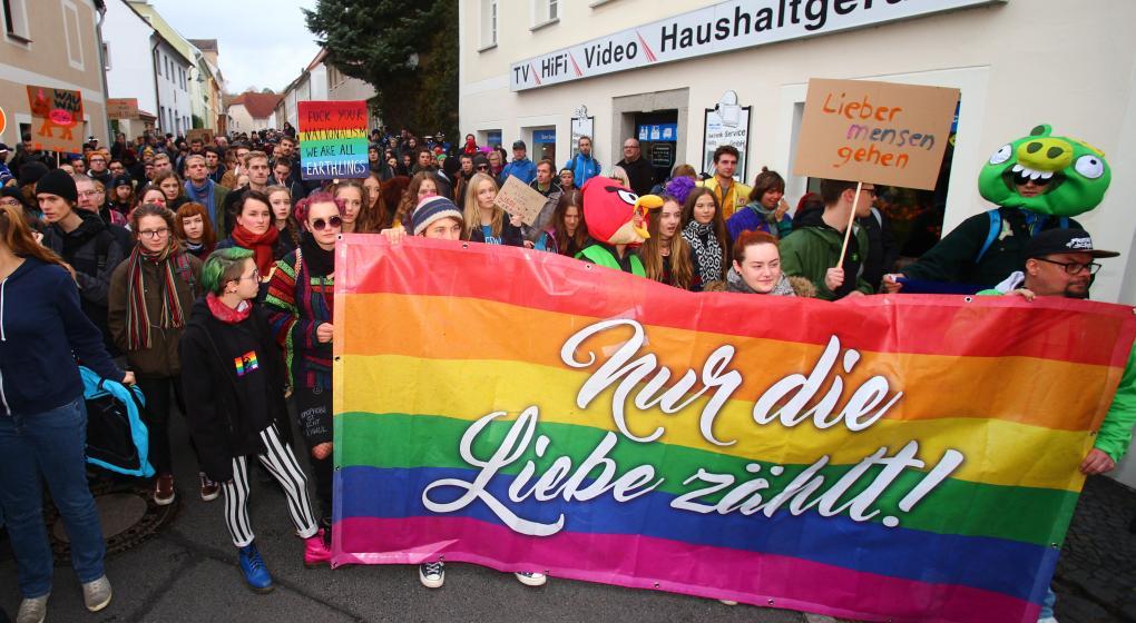 Ostritz, la pequeña localidad que les hace frente a los neonazis