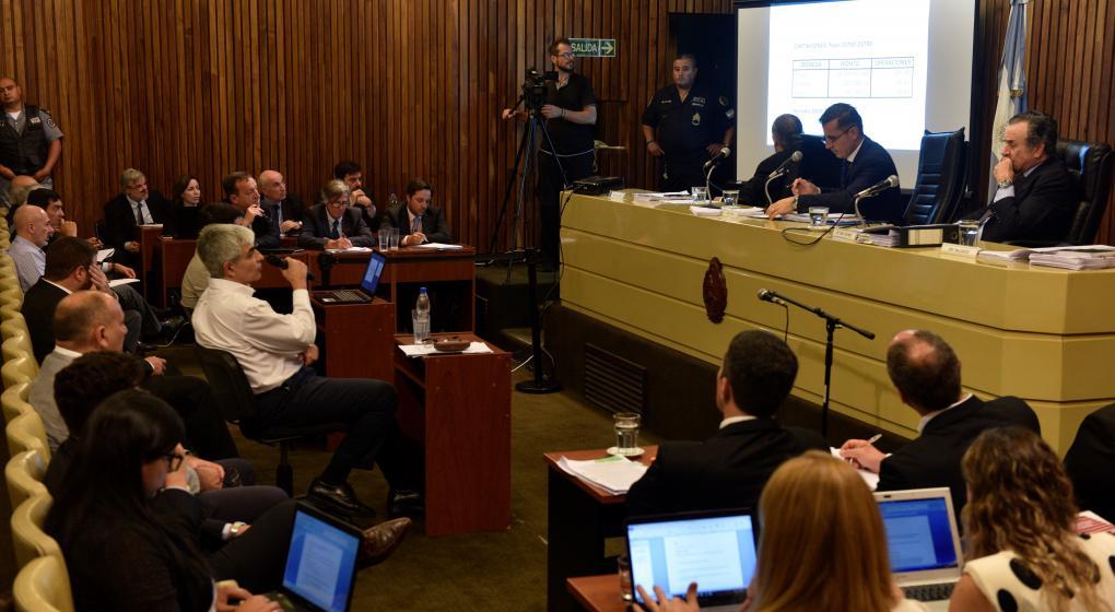 """Rodrigo hizo una """"defensa personal"""" ante el tribunal"""