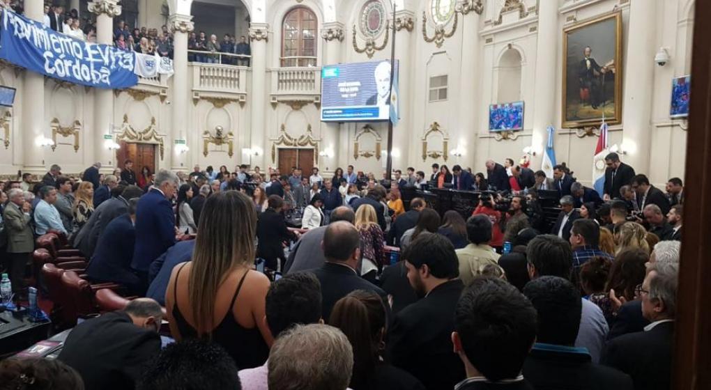 De la Sota, el impulsor de la Unicameral, fue homenajeado en la Legislatura