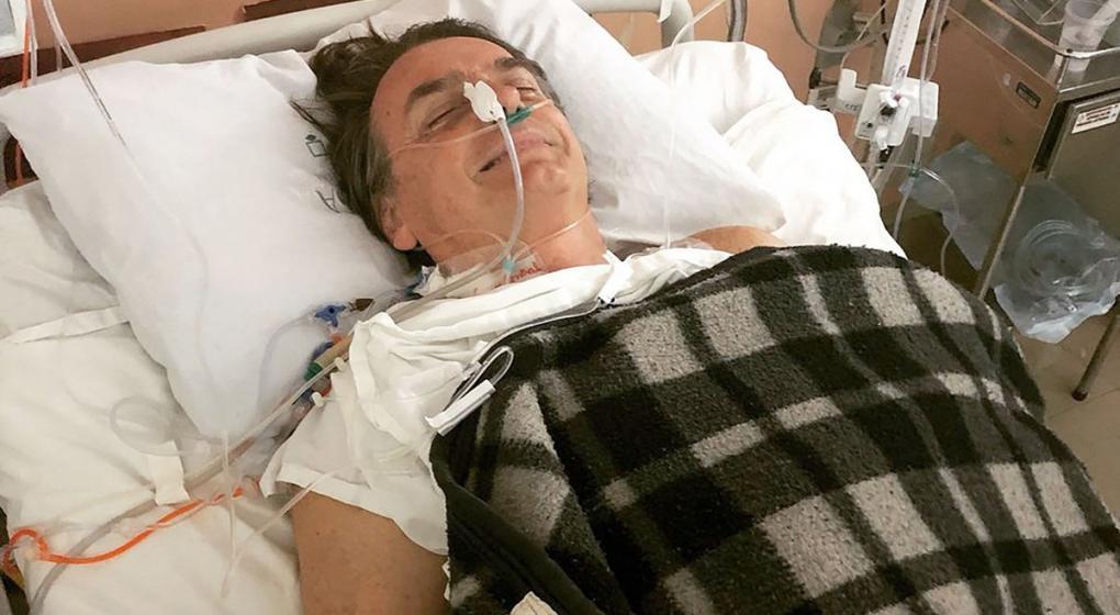 """Habló Bolsonaro desde el hospital: """"Nunca le hice mal a nadie"""""""