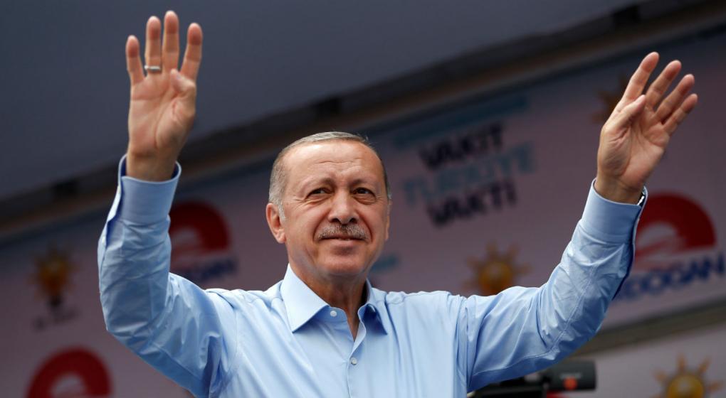 Con más de la mitad de los votos escrutados, Erdogan logró la reelección en Turquía