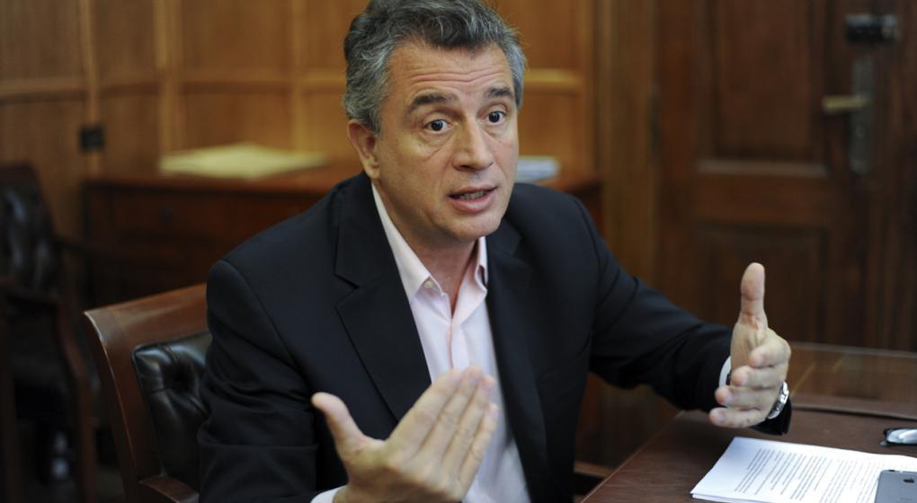 Etchevehere ratificó que no se reinstaurarán las retenciones al campo, pese a la crisis financiera