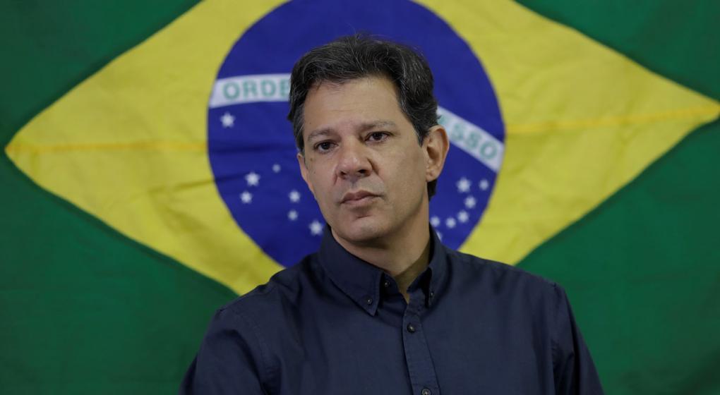 """Brasil: Haddad dijo que Bolsonaro es """"un jefe de milicia"""" y sus hijos """"unos matones"""""""