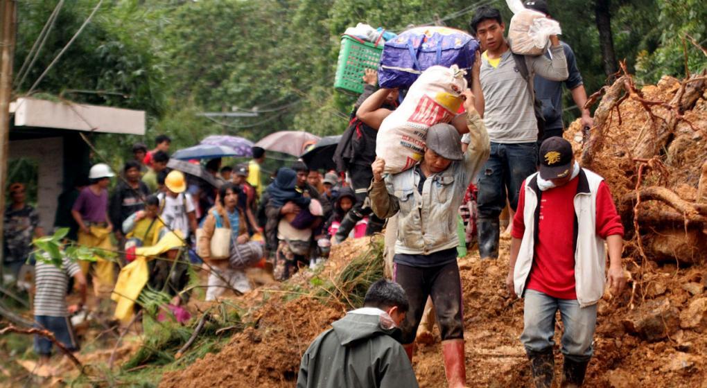 """Por el tifón """"Mangkhut"""", más de un centenar de muertos en el sudeste asiático"""