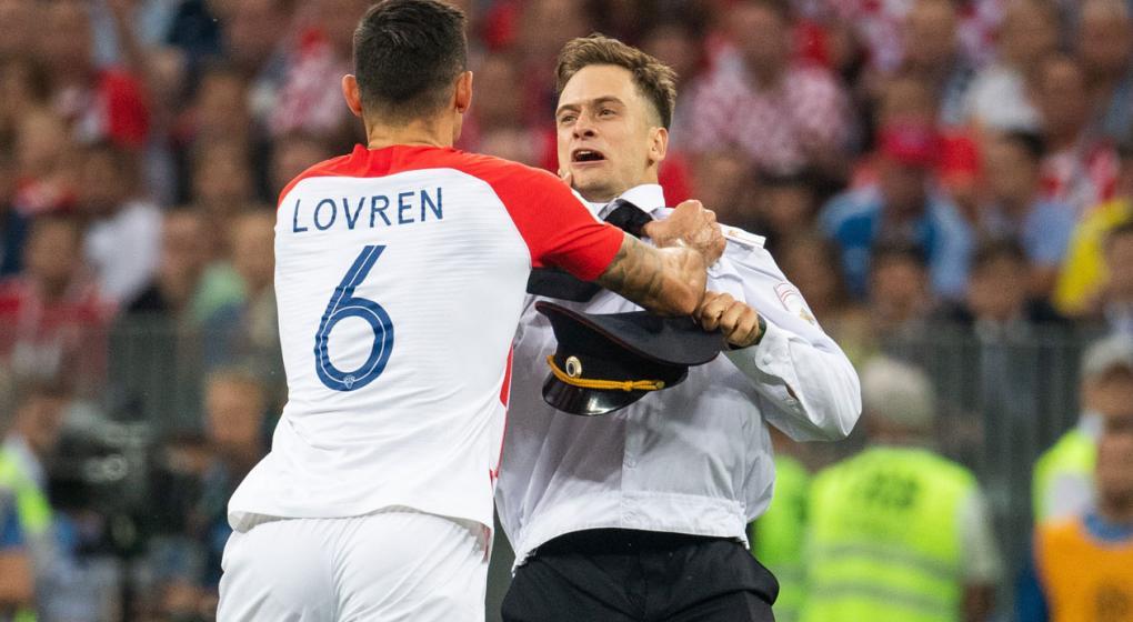 Médicos alemanes creen que el activista que interrumpió la final del Mundial fue envenenado