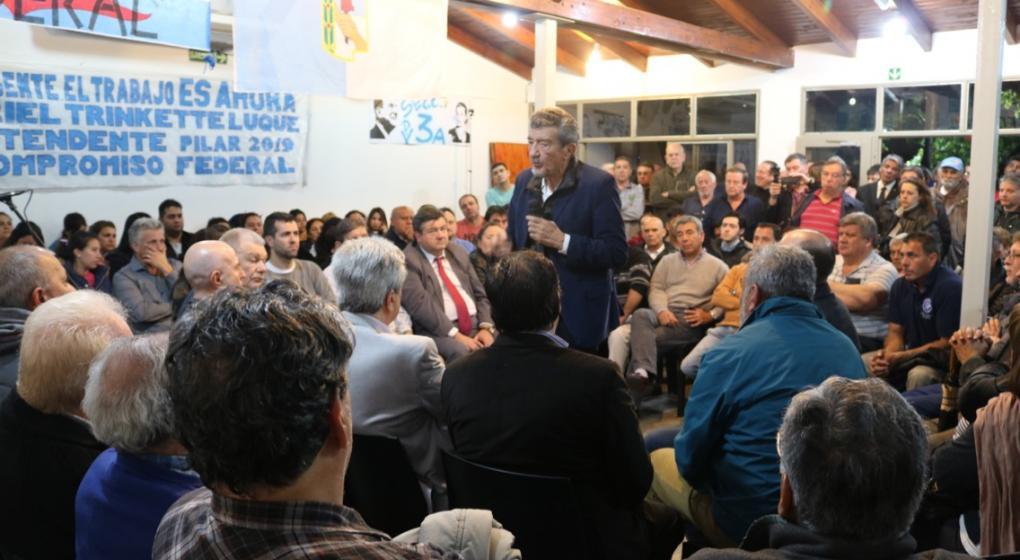 Rodríguez Saá busca hacer pié en Córdoba