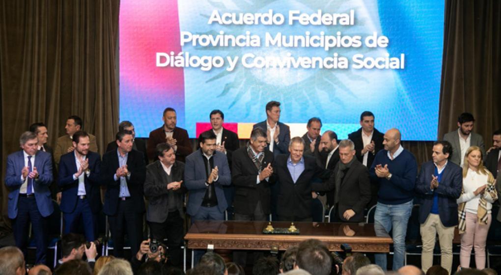 403 intendentes firmaron el pacto fiscal provincial
