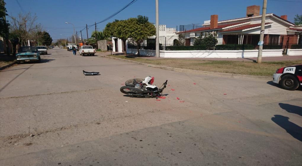 Muere adolescente en un siniestro vial en Villa Dolores
