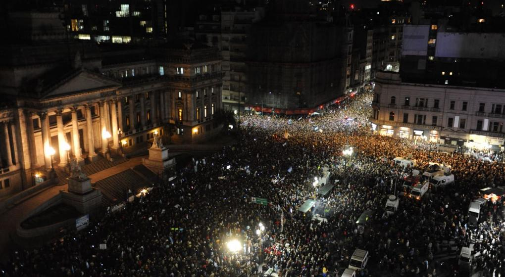 A pesar del anuncio de CFK, sigue la convocatoria en Congreso