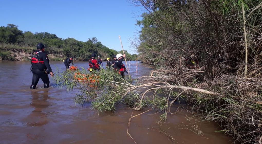 Encontraron el cuerpo sin vida del joven que se cayó en el río Xanaes