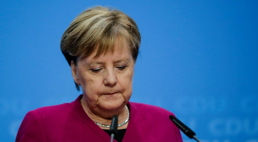 La canciller alemana Angela Merkel anunció que se retira de la política