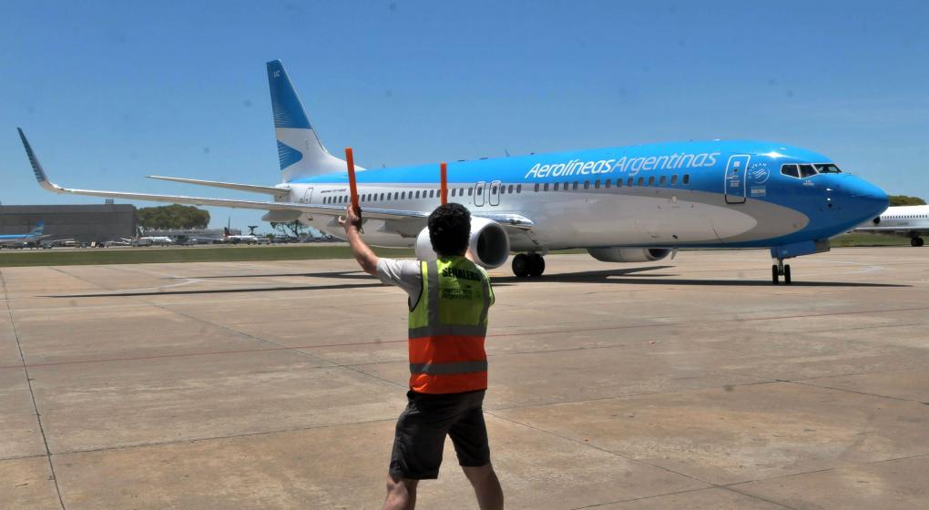 Protesta: Aerolíneas Argentinas canceló 57 vuelos y hay 7.000 afectados