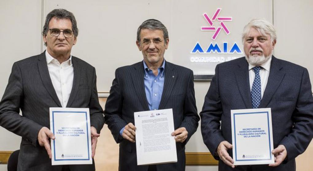 La Amia firmó un acuerdo de cooperación sobre el atentado de 1994