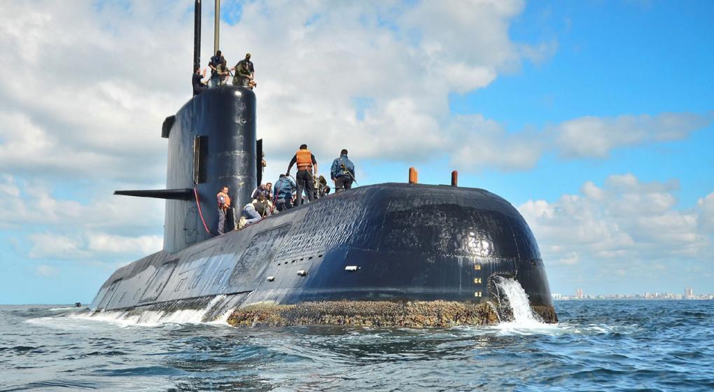 """Hallaron """"una señal importante"""" en la búsqueda del ARA San Juan"""