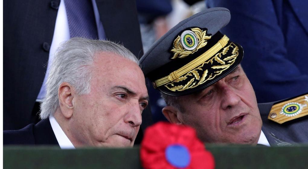 El jefe del Ejército niega que los militares tomarán el poder con Bolsonaro
