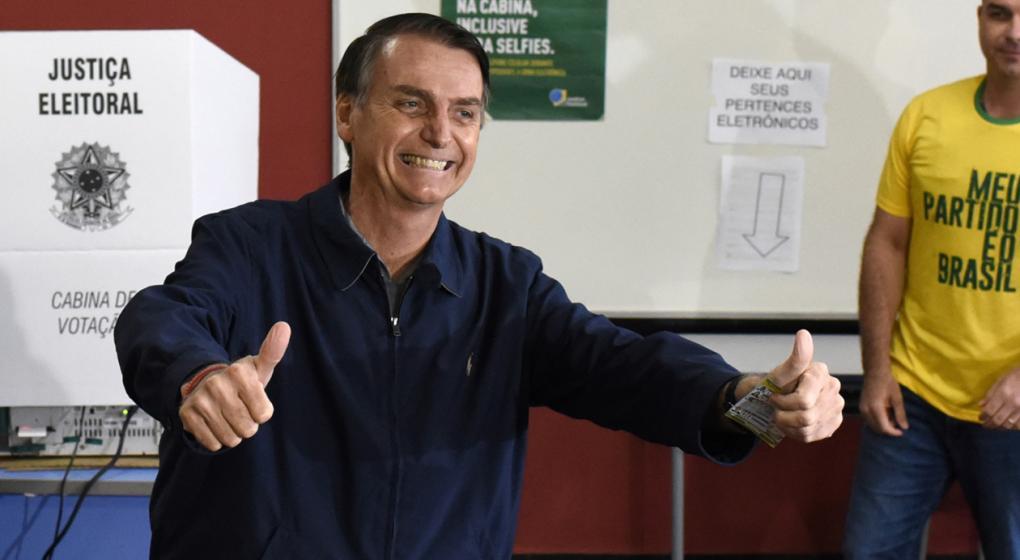 Multinacionales quieren fabricar armas en Brasil, si gana Bolsonaro