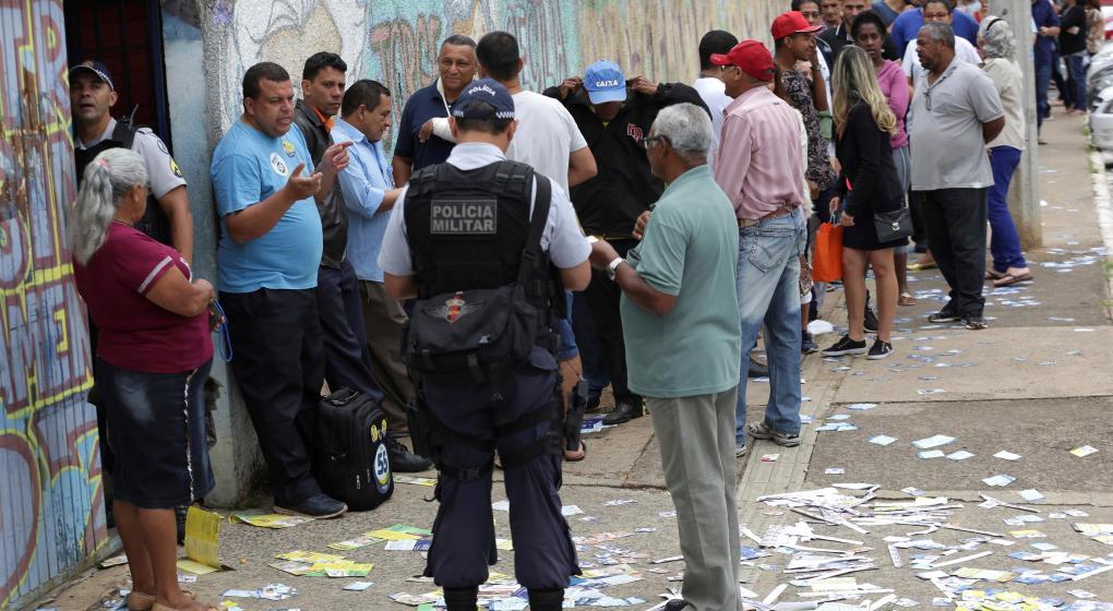 Elecciones en Brasil: detuvieron a más de 130 personas