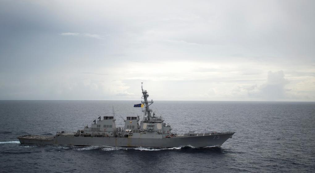Las Fuerzas Armadas de China denunciaron que un buque de guerra de EE.UU. entró a sus aguas