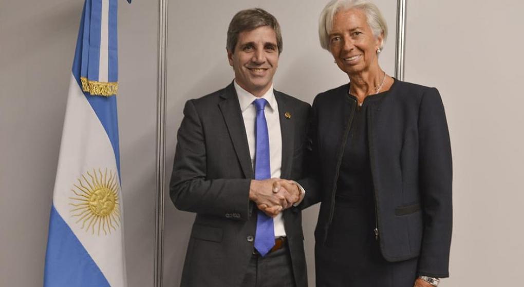 Lagarde ya está en la Argentina: se reunió con Luis Caputo