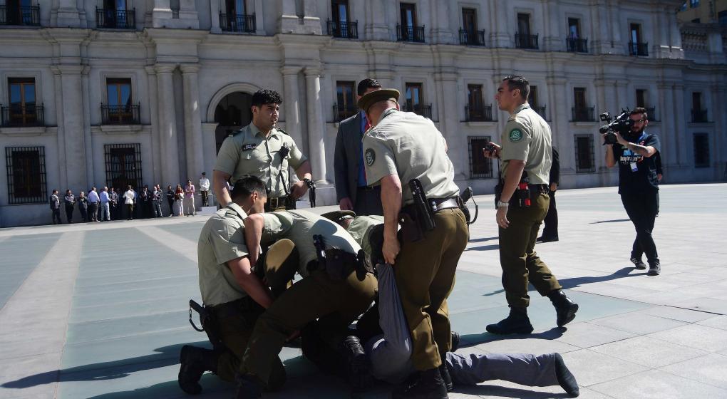 Disturbios y 40 detenidos en Chile en protestas por el asesinato de un comunero mapuche
