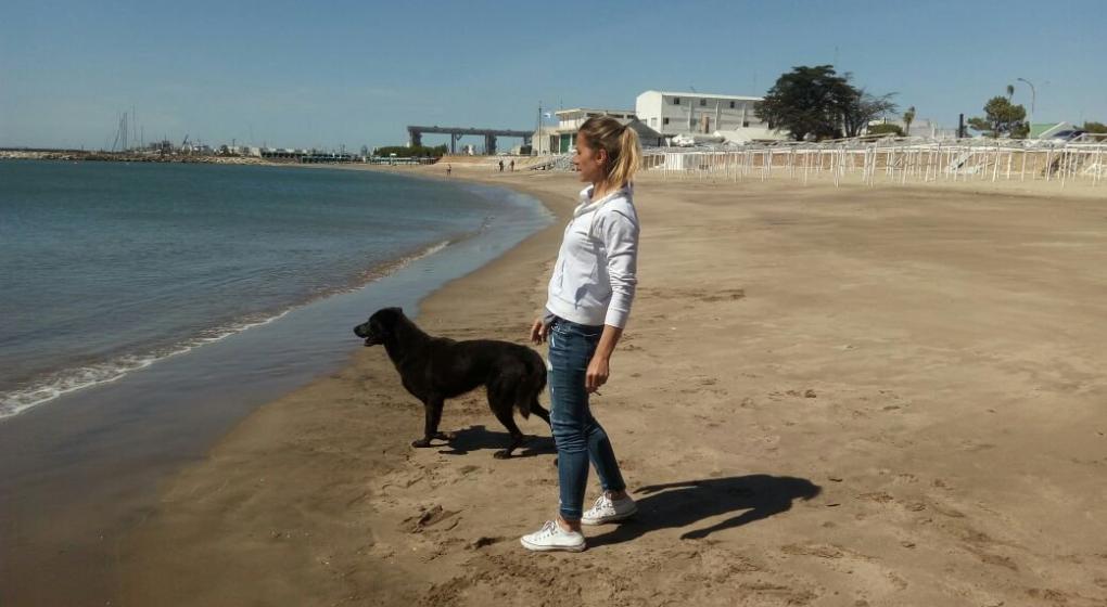 Murió Comando, el perro que despidió al ARA San Juan
