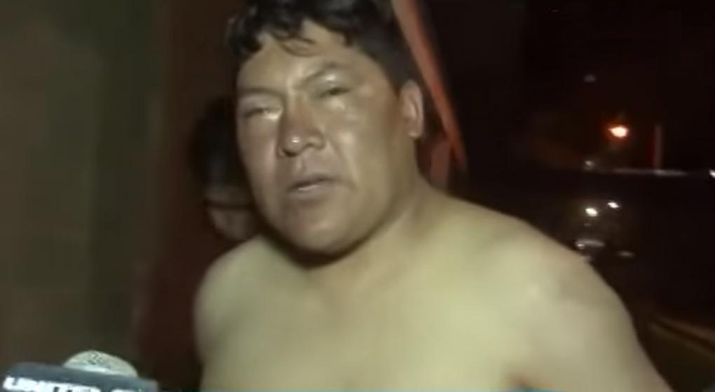 Diputado boliviano borracho que se desnudó en un aeropuerto desata la polémica
