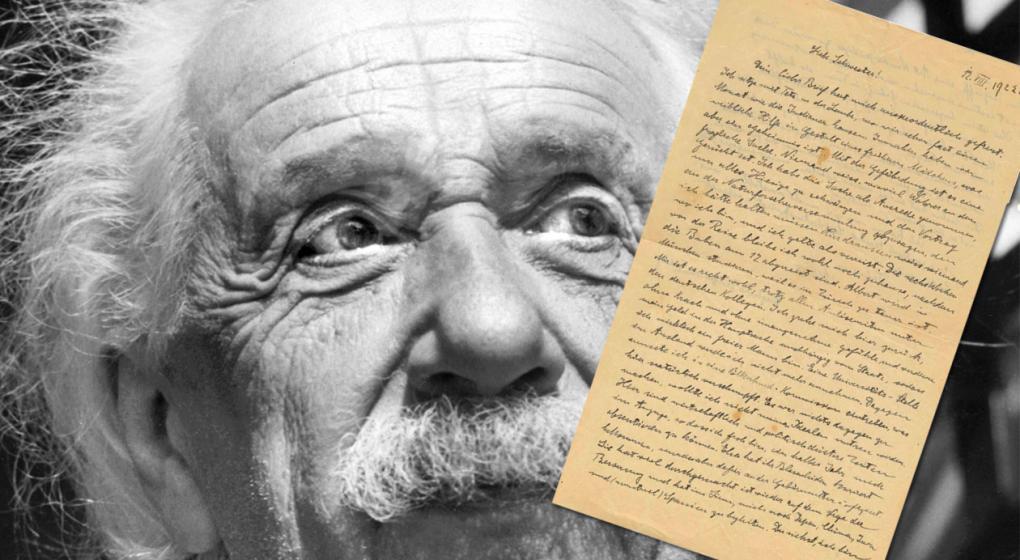 """Subastan la carta de Einstein en la que """"temía por el futuro de su país"""", 10 años antes del nazismo"""
