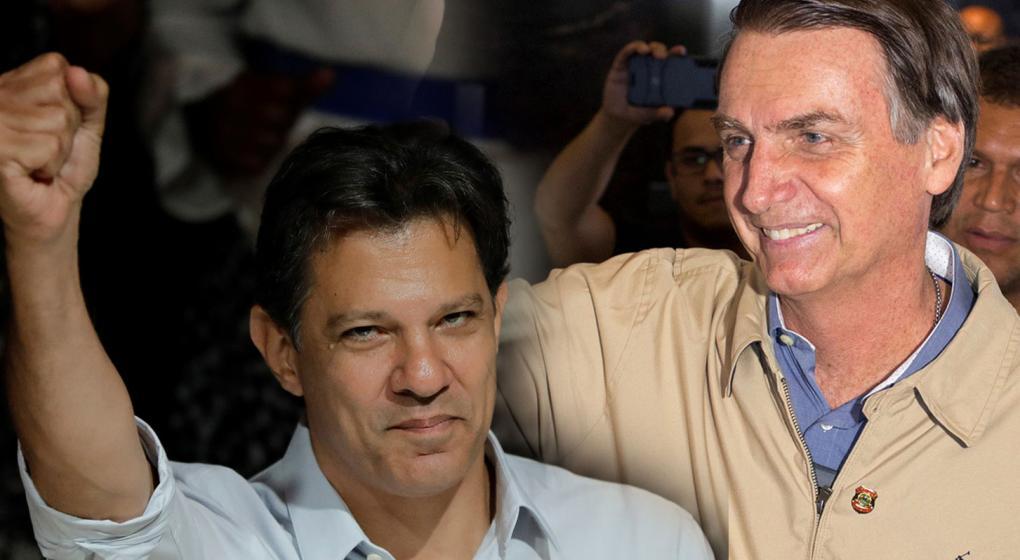 Haddad se separa de Lula y Bolsonaro modera su discurso