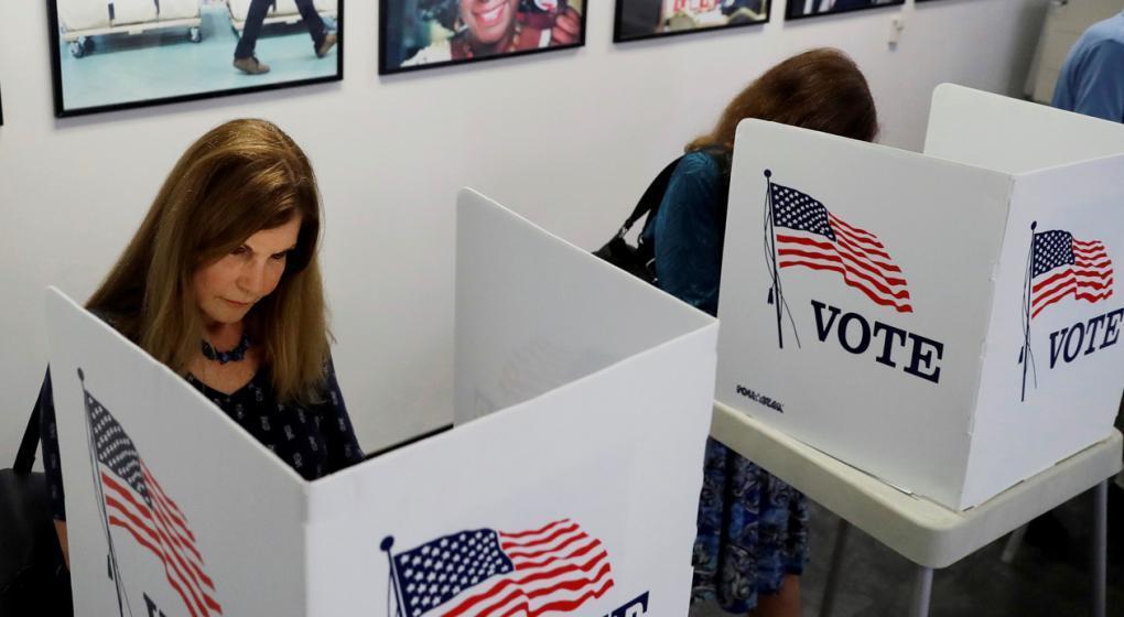 Largas colas y demoras en las primeras horas de elección en Estados Unidos