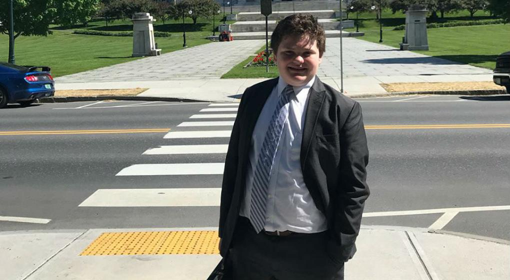 Un chico de 14 años se postuló como gobernador de una ciudad de Estados Unidos