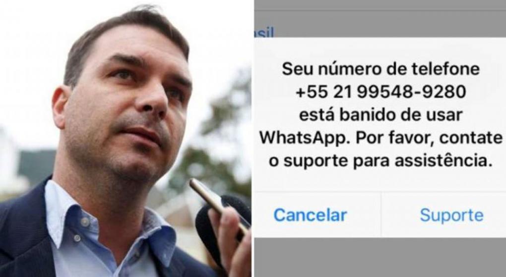 Elecciones en Brasil: WhatsApp le bloqueó la cuenta a uno de los hijos de Jair Bolsonaro