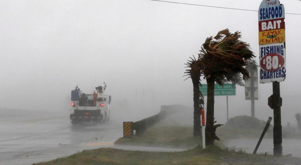 El huracán Florence golpea la costa este de Estados Unidos