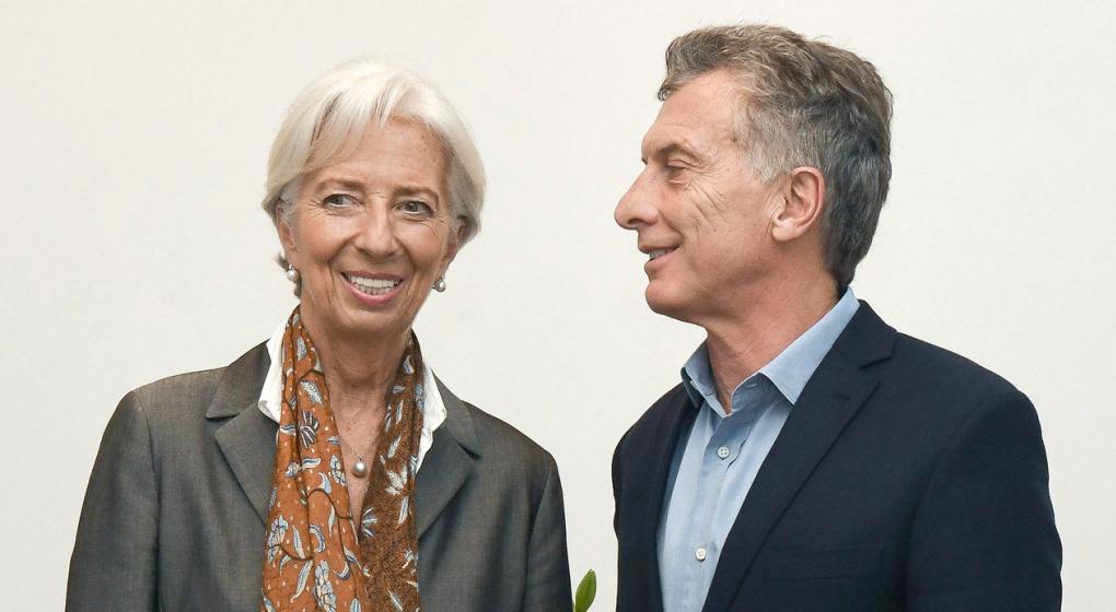 Macri y Lagarde se reúnen en Canadá