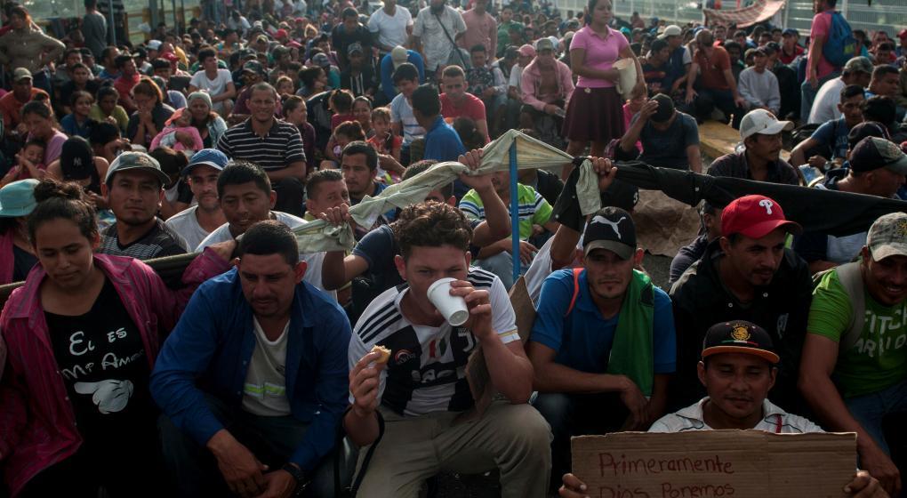 Estados Unidos acusa a Venezuela de financiar los migrantes hondureños