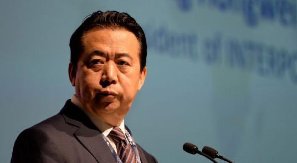 Interpol le pide a China que aclare el paradero de su presidente