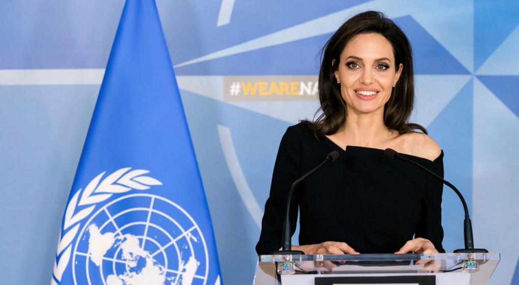 Angelina Jolie visitó a inmigrantes venezolanos en Lima