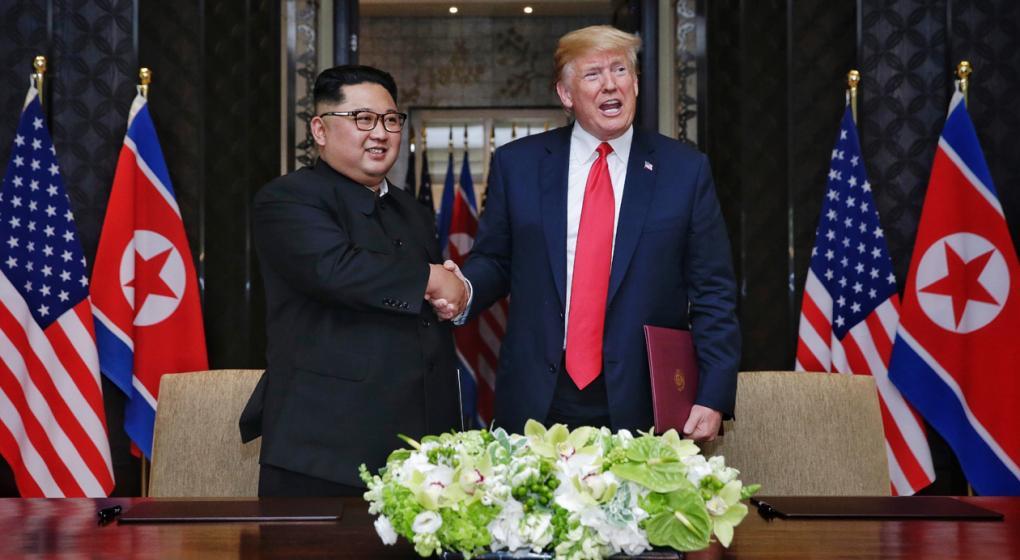 Kim aceptó la invitación de Trump para visitar EE.UU