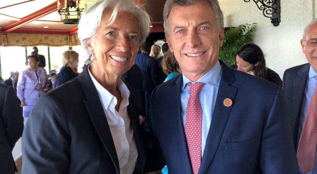 Lagarde llega al país en medio de críticas: participará del G-20 y se reunirá con Macri