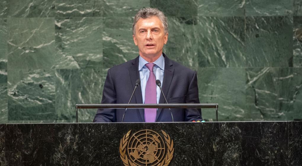 Macri: Quiero felicitar a todos los argentinos que contra viento y marea fueron a trabajar hoy
