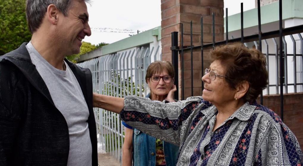 Los referentes de Cambiemos Córdoba timbrearon este sábado